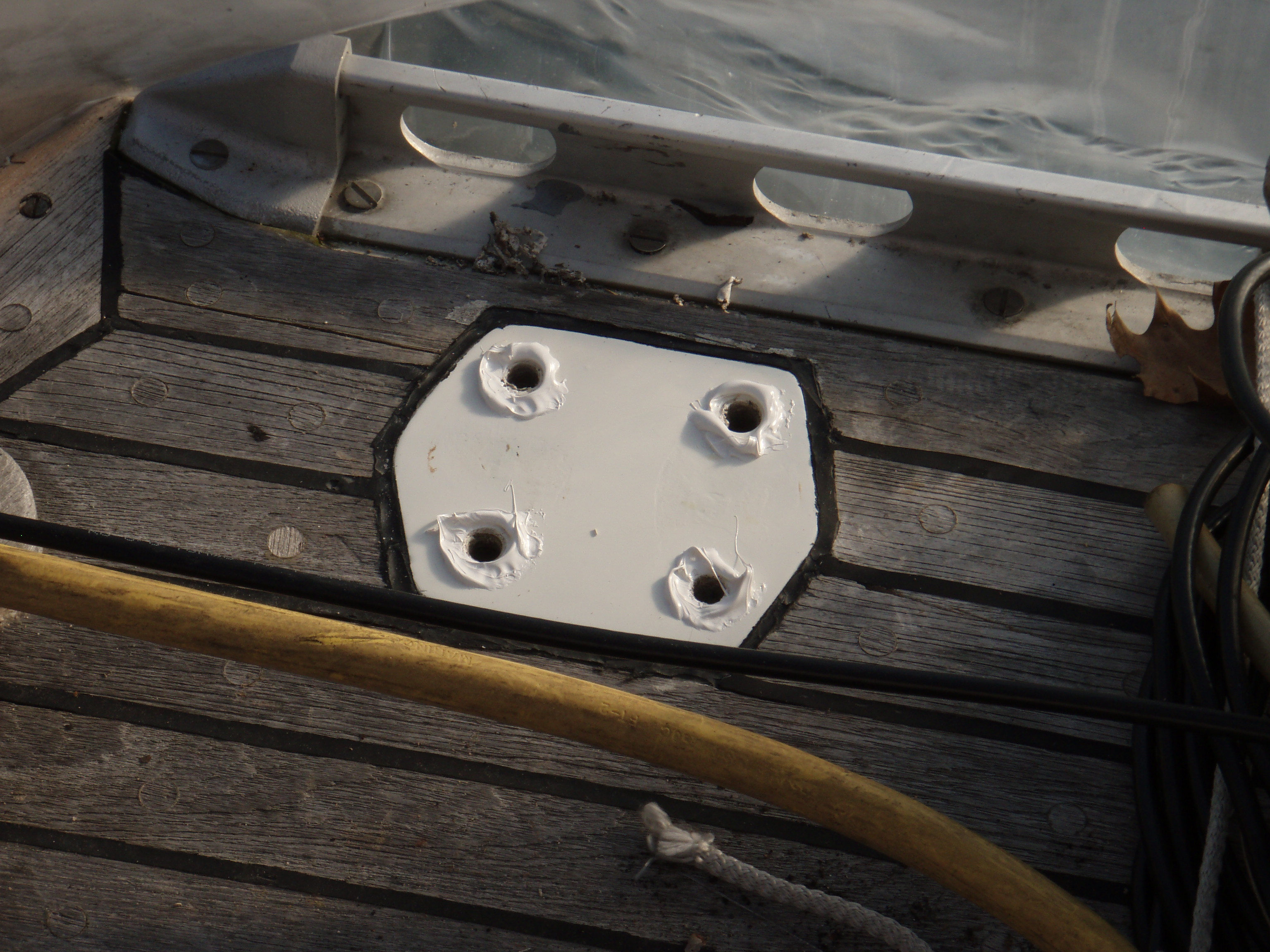 Pad for Port Stern Cleat
