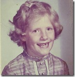 Barb in first grade