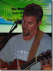 Open Mic Kevin picking 3-7-2012 7-46-18 PM