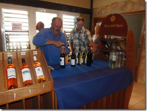 Wine Jos opening the first bottle 5-10-2012 4-38-04 PM