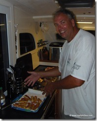 Tim in the Galley
