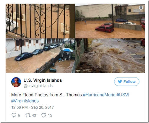 Flooding St. Thomas