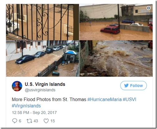 Flooding St. Thomas